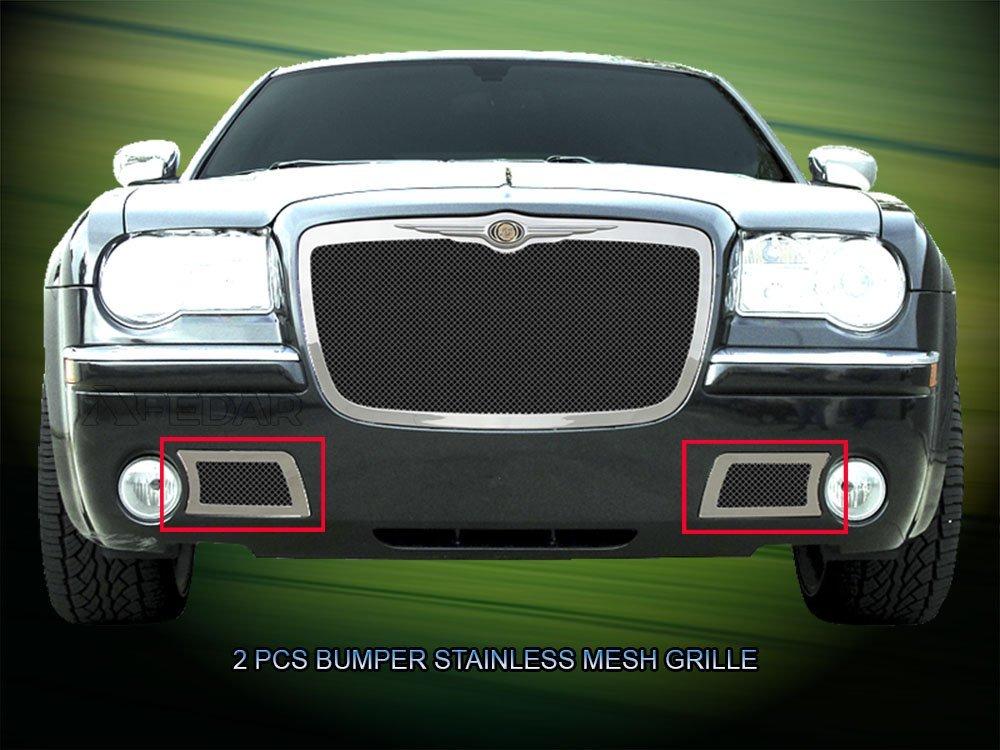 Fedar Lower Bumper Wire Mesh Grille for 2005-2010 Chrysler 300C