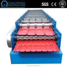 Large material precision roof tile fix machine