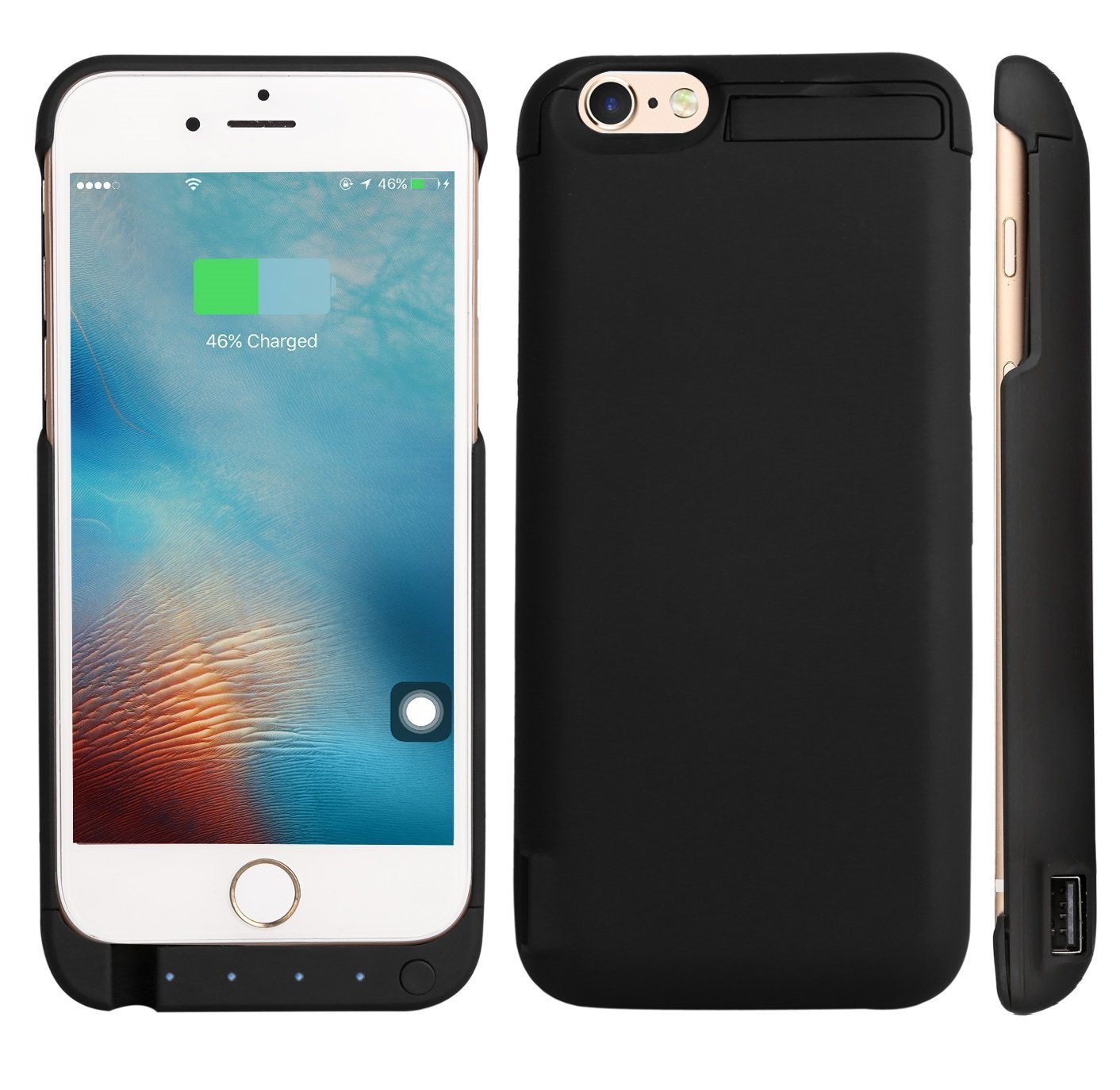 new products ddfb0 22f96 Buy iPhone 6/ 6S Battery Case, High Capacity 7000 mAh Extended Power ...