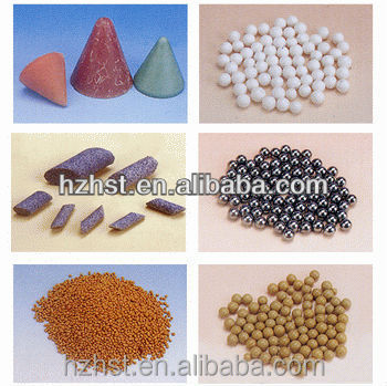 Vibratory bowl polishing compound Polishing stone
