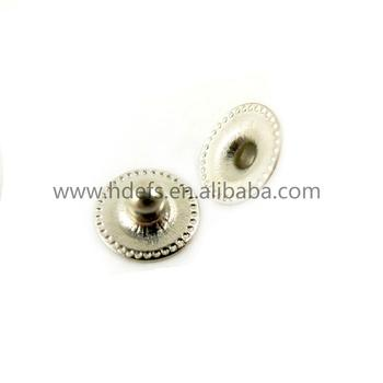 5.0mm Brass snap button Mini male button