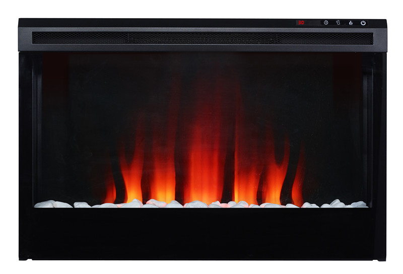 colorful luxury electric fireplace indoor with LED flame adjustable for home shop