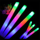 Hot sales Custom Multi Color Foam LED Light Baton Sticks led foam glow stick