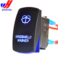 CE/UL/ waterproof illuminated led light Boat Navigation Rocker Switch labels