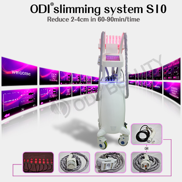 Hot and quick laser fat burning ultrasound cavitation rf vacuum lipolaser slimming machine