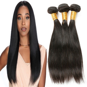 Wholesale Grade 9A Natural color Silky Straight Wave Raw Virgin Brazilian Hair Extension Human