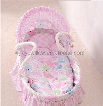 100 handmade baby bassinet basket baby carrier basket with liner and mattress