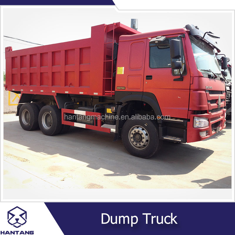 China Manufacture Brand new 10-20 Ton Loading Capacity Tipper Truck , 6x4 howo dump truck for sale