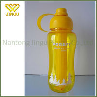 Plastic PC sport bottle with straw