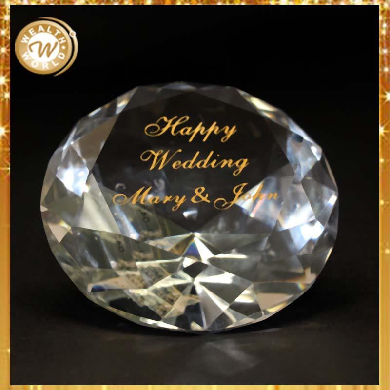 Crystal Wedding Anniversary Gift: Wedding Anniversary Gifts Crystal Wedding Souvenirs For