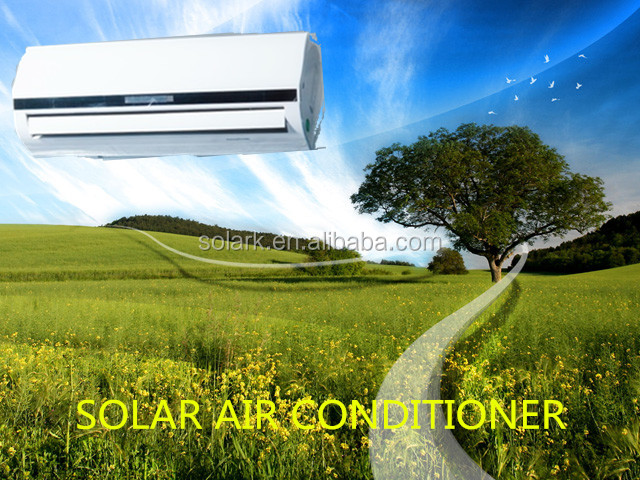 18000BTU 100% Solar Powered Air Conditioner assist people living in places short of power supply enjoying air conditioner fre