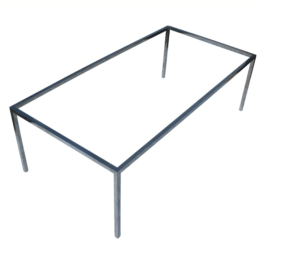 chrome metal dining table basetable frame  buy dining table base  - chrome metal dining table base table frame