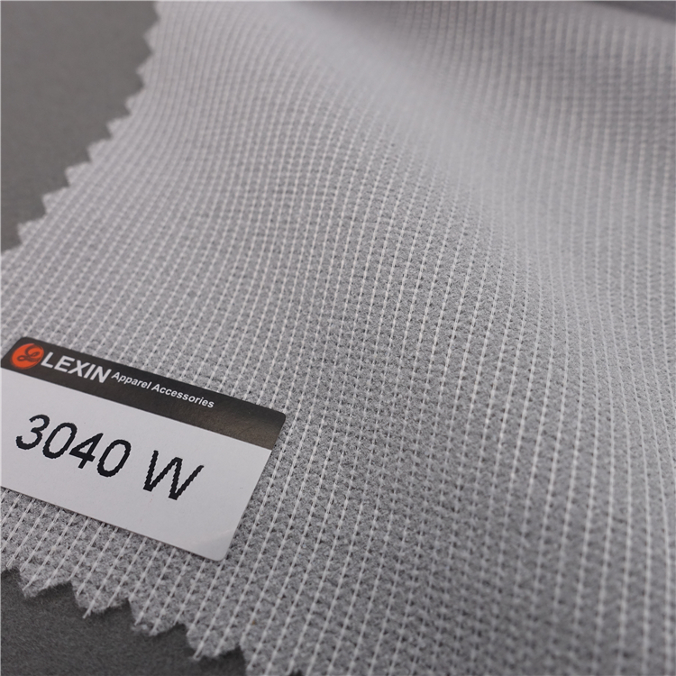 Light weight cloth lining 60 Inches 3040 knit fusible interlining for children's garments