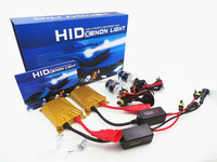 Super bright HID bulb 12V 55W slim ballast fast start AC kit best headlight bulbs car H7 HID kit