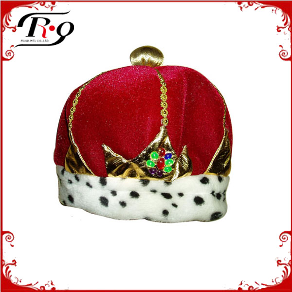 carnival party plush king's crown
