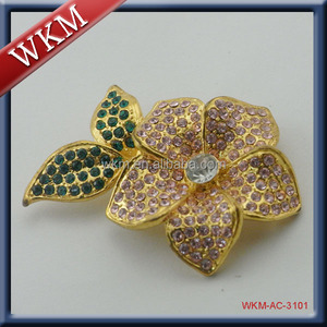 flower shape with Crystal petwer product