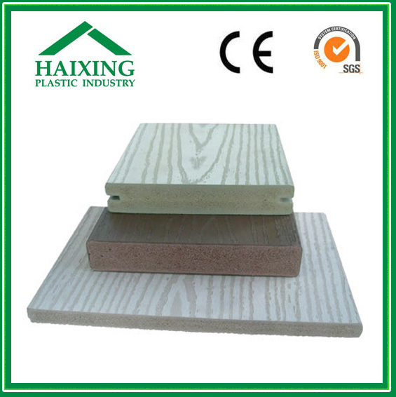 wpc board manufacturers WPC/PVC Decking and Wall Panel No screw CE,SGS,ani-UV
