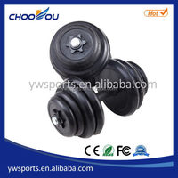 Fashionable stylish pro rubber dumbbells/free weight