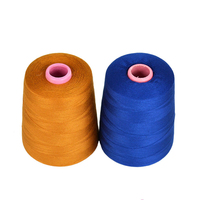 high strength 100% polyester material Ne 42s/2 sewing thread for canvas bag