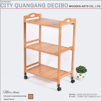 2017 Moderno Mobili In Legno Di Bambù Pieghevole Storage Cucina ...