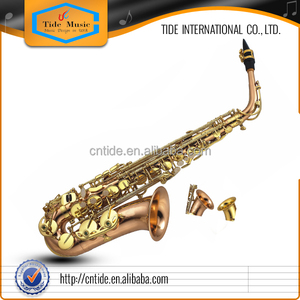 High Grade Alto Saxophone New Typle Large Bell Phosphor Copper body