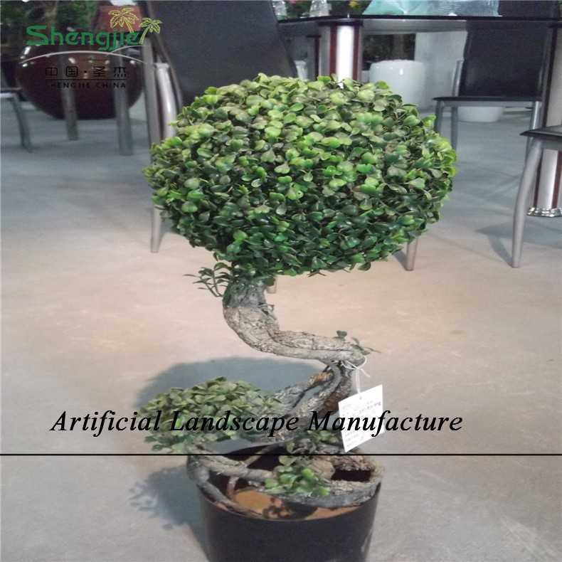 SJZJN 2009 Artificial Green Plant High Quality Milan Grass Topiary Plant