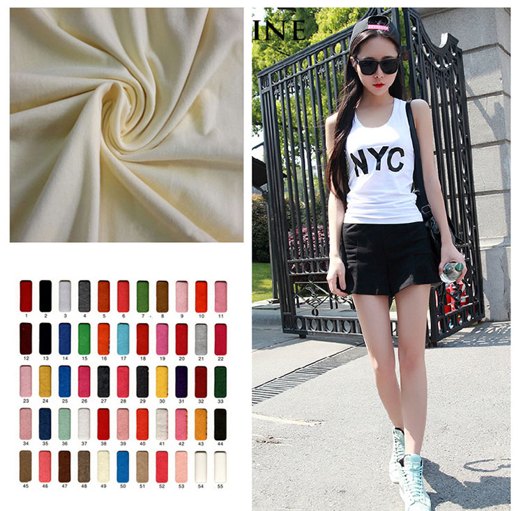 Knitted Fabric Single Jersey Stock Lot Cotton Spandex 1x1 Rib ...