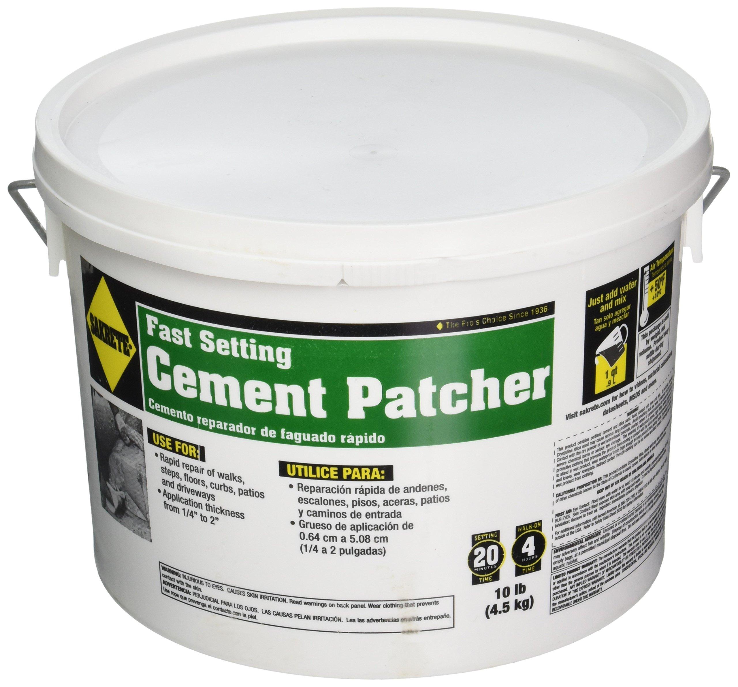 SAKRETE OF NORTH AMERICA 60205004 Cement Patcher, 10 lb