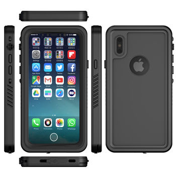best sneakers 5e284 f8abc Waterproof Antiproof Silicone Phone Case For Iphone X 10 8 Plus 7 6 6s Plus  - Buy Anti-knock Pouch Housing For Iphone X 8 Plus,Ip68 Waterproof Case ...