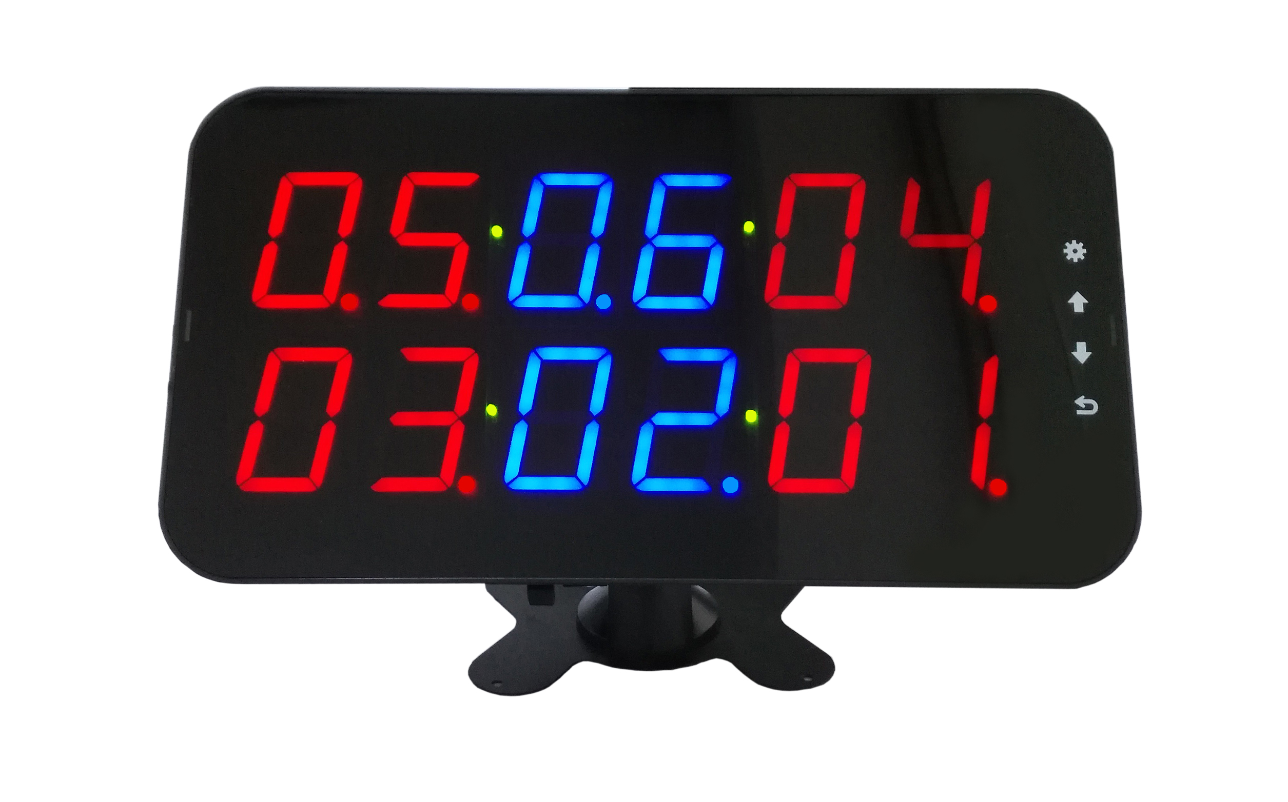 Wireless Call System For Restaurant  Waiter Buzzer Call Equipment 1 Display With 10 Call Button CE Passed