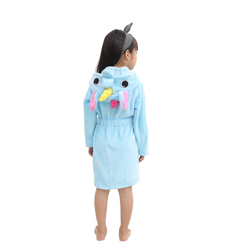 Get Quotations · RGTOPONE Kids Soft Bathrobe Unicorn Fleece Sleepwear  Comfortable Loungewear 7595cd8b0