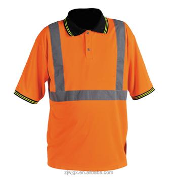 Custom polyester fluorescent orange polo shirt buy for Custom polyester polo shirts