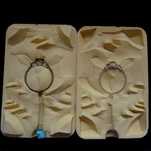 Wax Jewelry Ring Molds