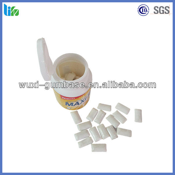 Hot sell xylitol Dragee chewing gum bottle gum lotte xylitol