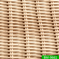 Natural Color Round Size Rattan Furniture Resin Wicker