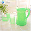 wholesale 2.2l bpa free water jug coffee pot petg water bottle jug with side handle