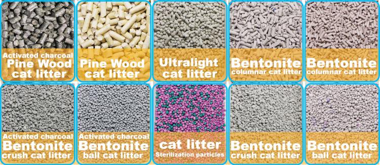 Cat Sand Pine Wood Cat Litter Bulk Cat Litter Wholesale