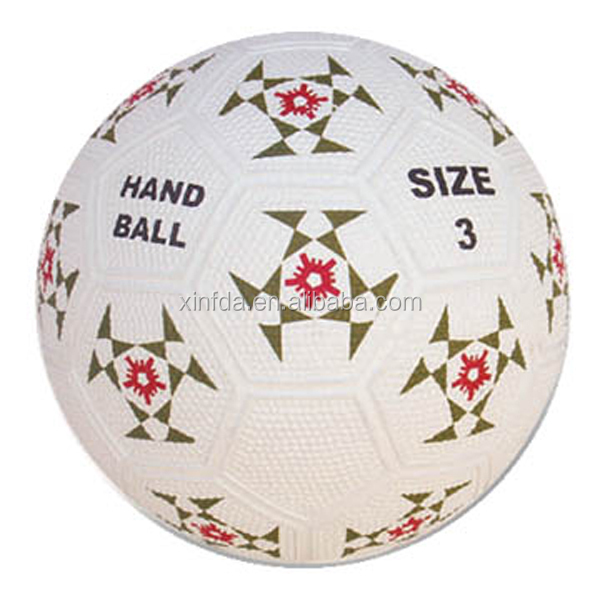 Outdoor Custom Mini Rubberen bal voor handbal bal