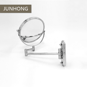 Custom Foldable 3X Magnification Double Sided bathroom makeup mirror with stand