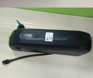 electric bike battery 36v 250w 300w 500w 36v 10ah battery with hailong case and smart quick charger