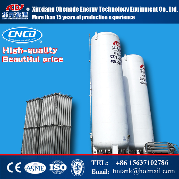 5M3 8bar Liquid oxygen(LOX)/nitrogen(LN2)/natural gas(LNG)/argon(LAr) storage cryogenic tank