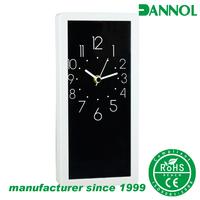 Black and white unique design executive desk clock/ small wall clocks