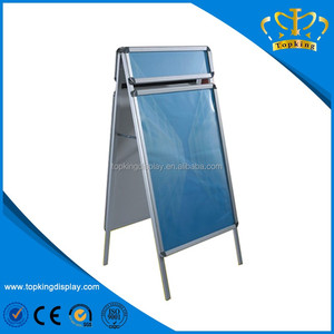 Outdoor Advertising Board Display Double Sided A Board With Head