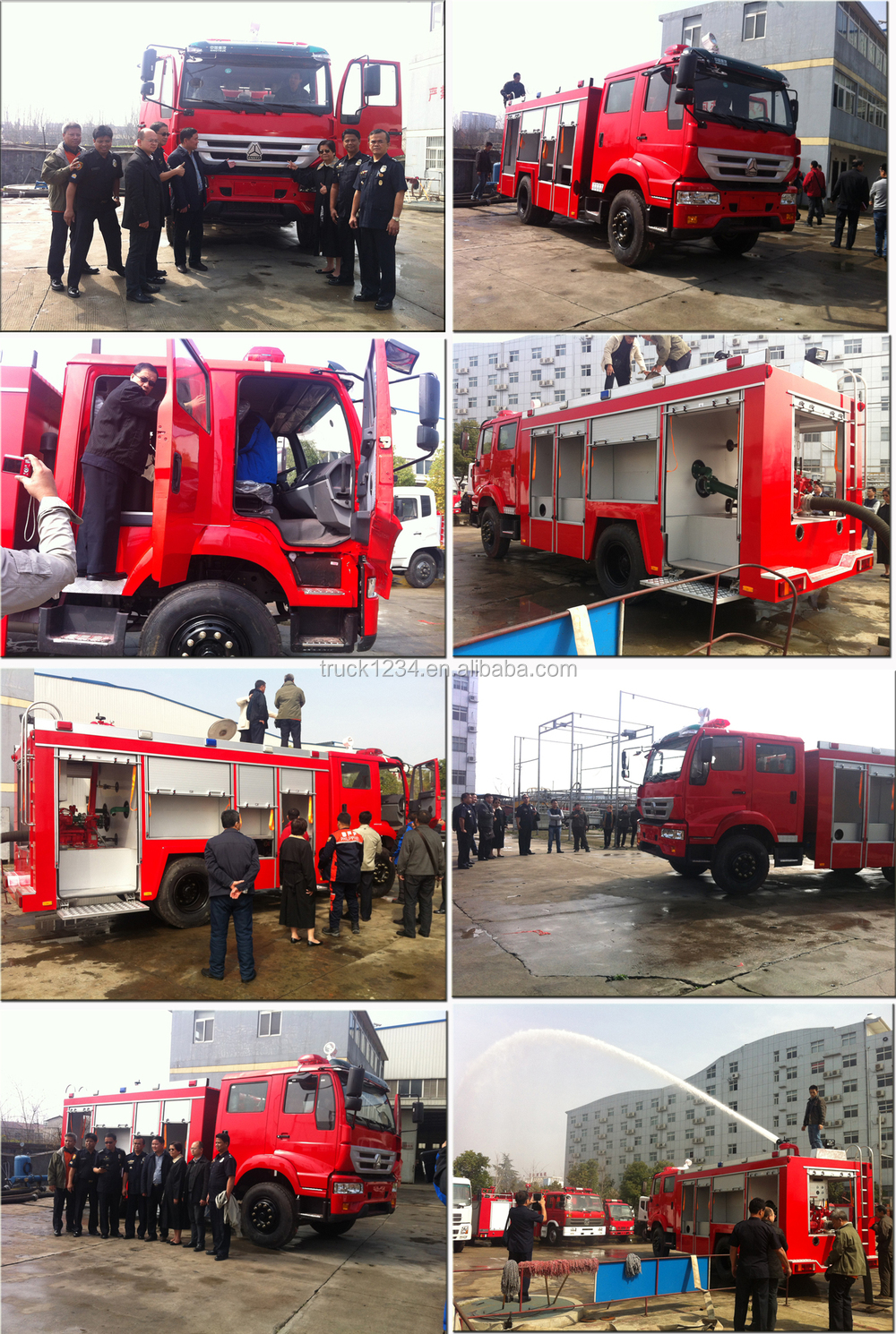 China Suppliers Dongfeng 4x4 Off-road Desert/ Forest Fire Fighting ...
