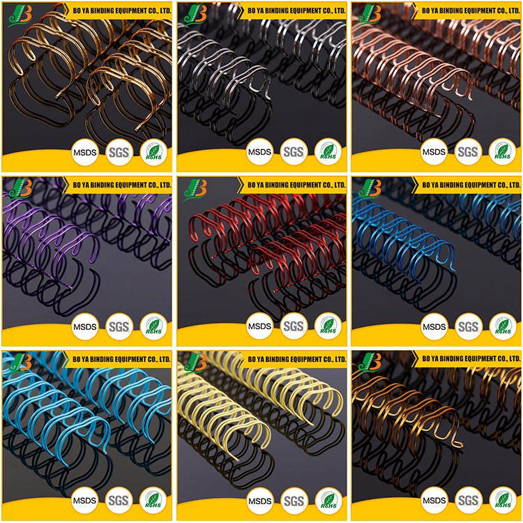 Nylon Coated Metal Binding Ring Spiral Notebook Wire
