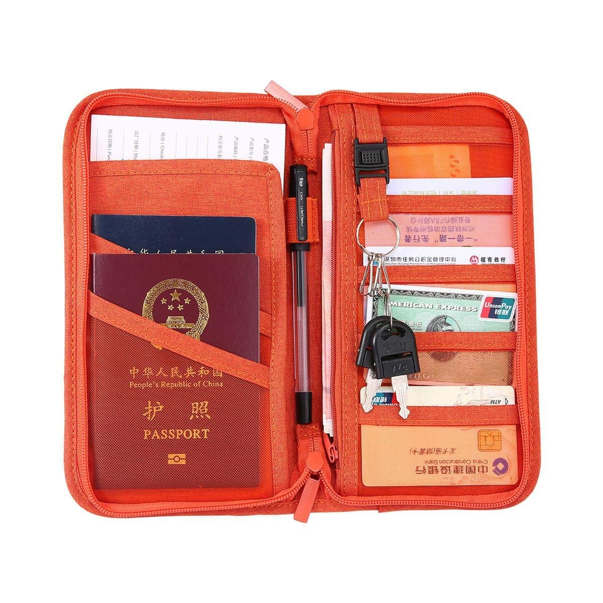 Pink Black Sheep Multi-purpose Travel Passport Set With Storage Bag Leather Passport Holder Passport Holder With Passport Holder Travel Wallet