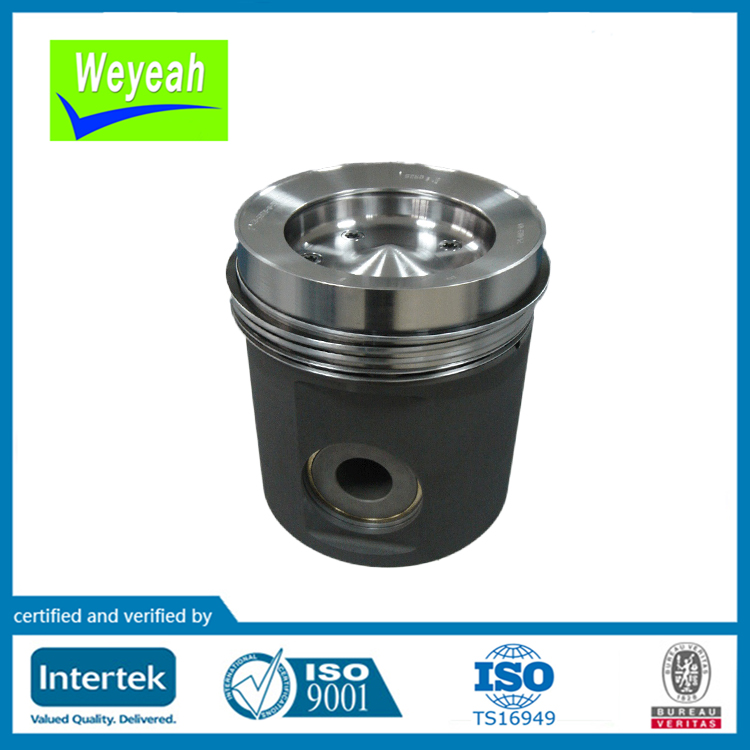 Piston assembly 5550300218 for MTU 396 diesel engine