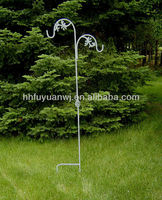 Metal Garden Hanging Basket Shepherd Hook Buy Wrought Iron