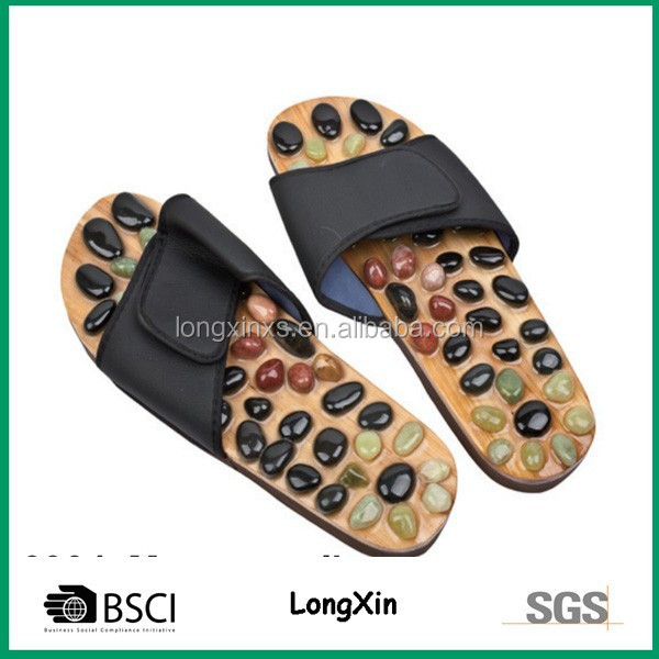 Lx-0904 Foot Massage Slippers Footcare Sandals Blood Circulation ...