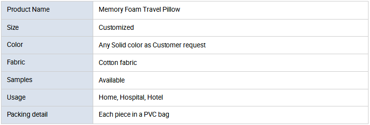 New arrival high quality cheap inflatable U shape memory foam neck pillow airplane travel pillow